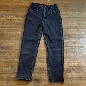 Vintage Black high waisted mom jeans by Gloria V.